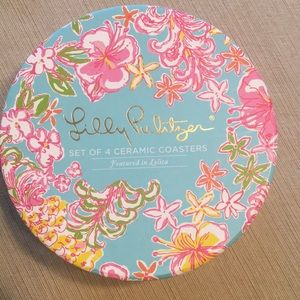 Lilly Pulitzer Coasters, set of 4